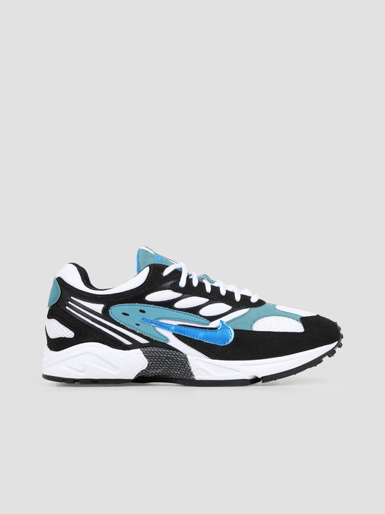 Nike Air Ghost Racer Black Photo Blue Mineral Teal Black AT5410 004
