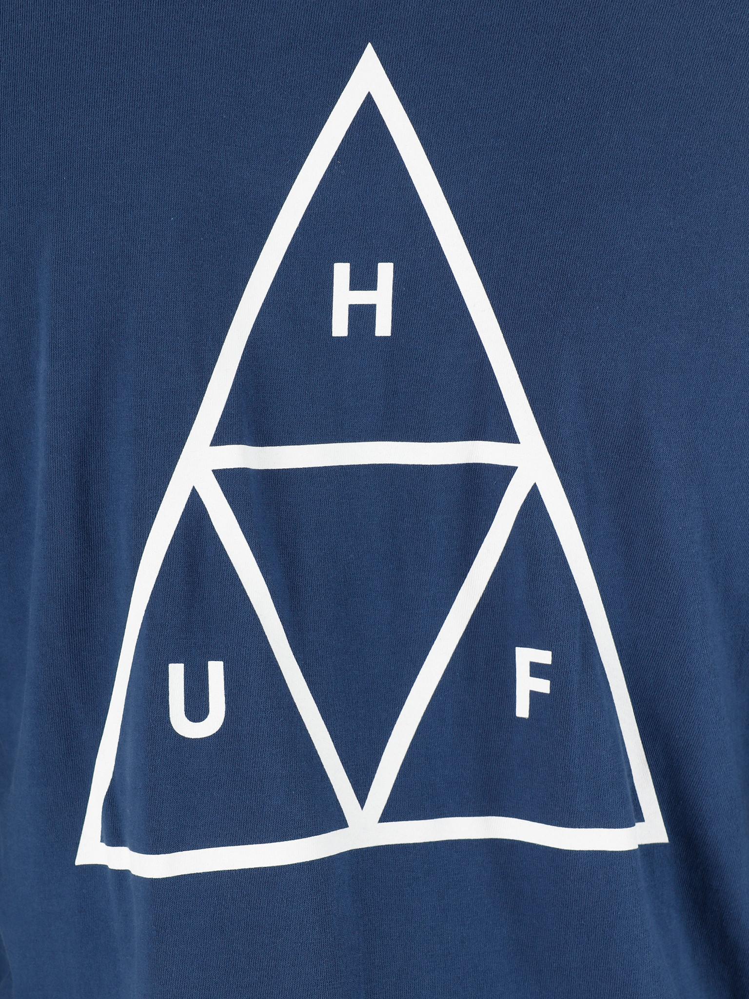 HUF HUF Essentials Tt Longsleeve Tee Insignia Blue Ts00506Iablu