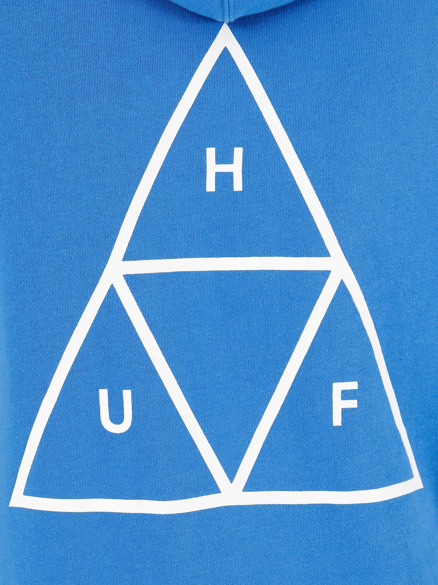 HUF HUF Essentials Tt Po Hoodie  Nebulas Blue Pf00100Nebb