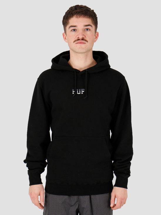 HUF Ember Rose Classic H Po Hoodie Black Pf00181Black