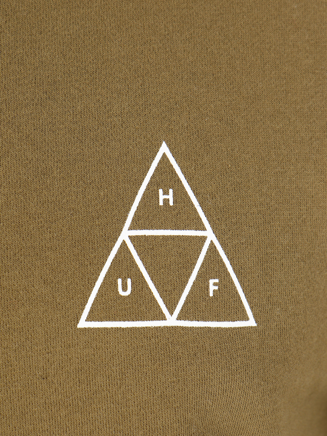 HUF HUF Essentials Tt Crew Martini Olive Pf00101Marol