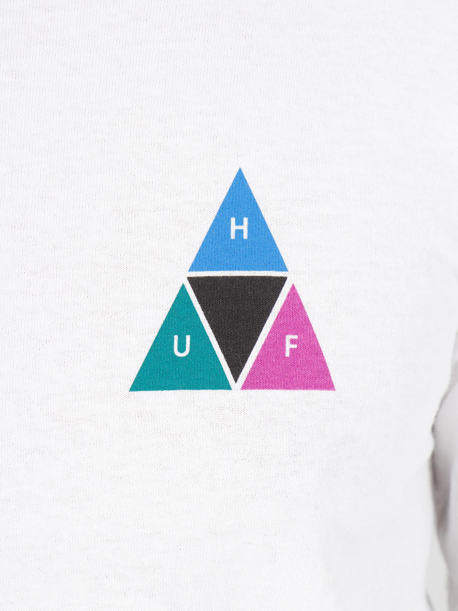HUF HUF Prism Tt Longsleeve Tee White Ts00938White