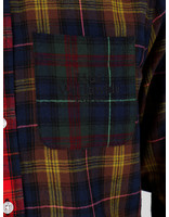 HUF HUF Swire Longsleeve Woven Shirt Poppy Bu00060Poppy
