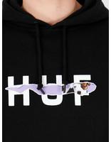 HUF HUF Vicious Po Hoodie Black Pf00131Black