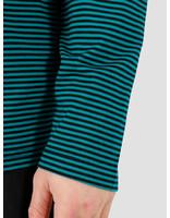HUF HUF Vilmos Stripe Longsleeve Knit Top Insignia Blue Kn00138Iablu