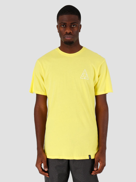 HUF Essentials Tt Ss Tee Blazing Yellow Ts00509Blzyw