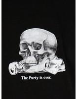 HUF HUF Partys Over Ss Tee Black Ts00898Black