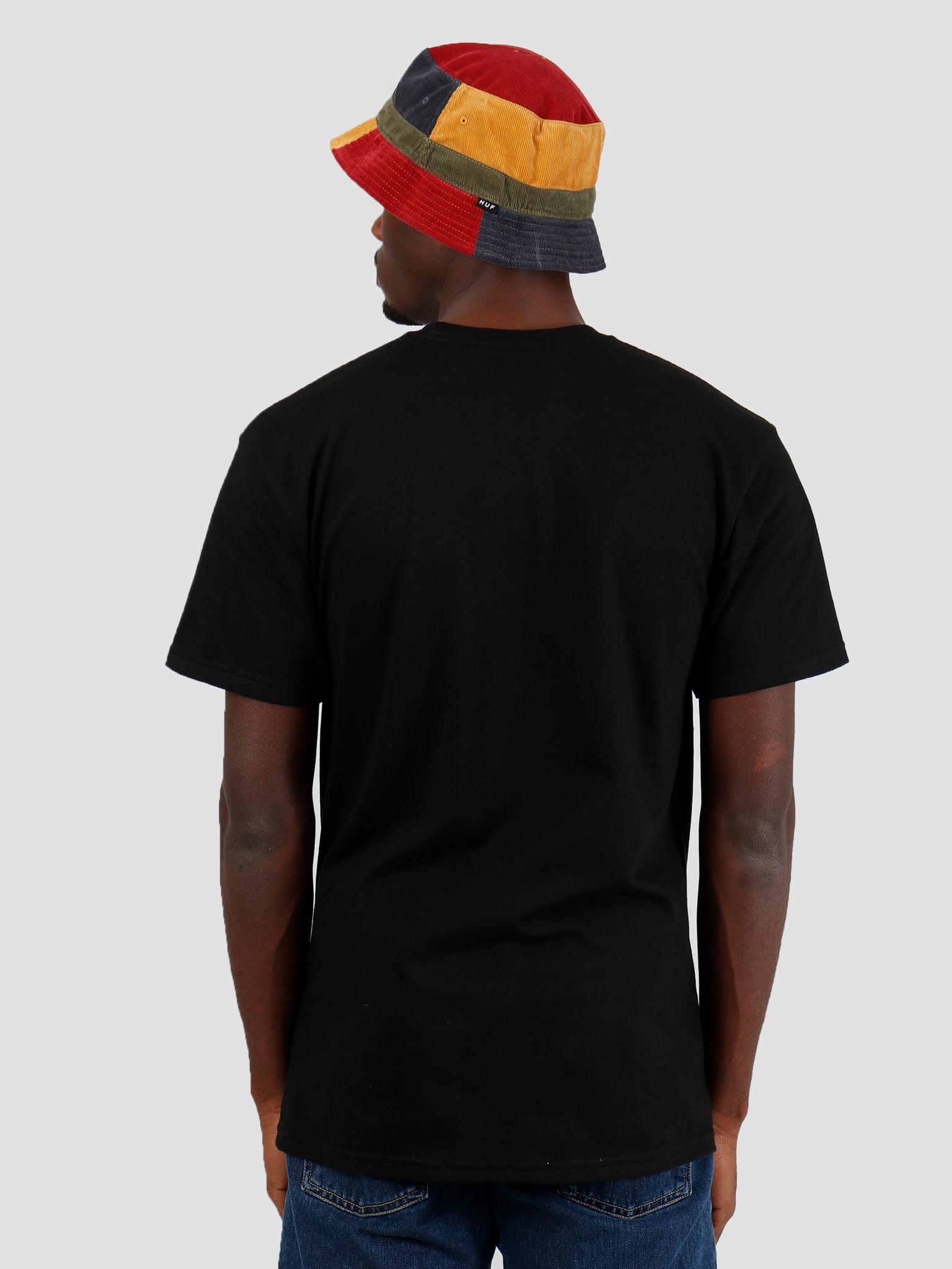 HUF HUF Vicious Ss Tee Black Ts00896Black