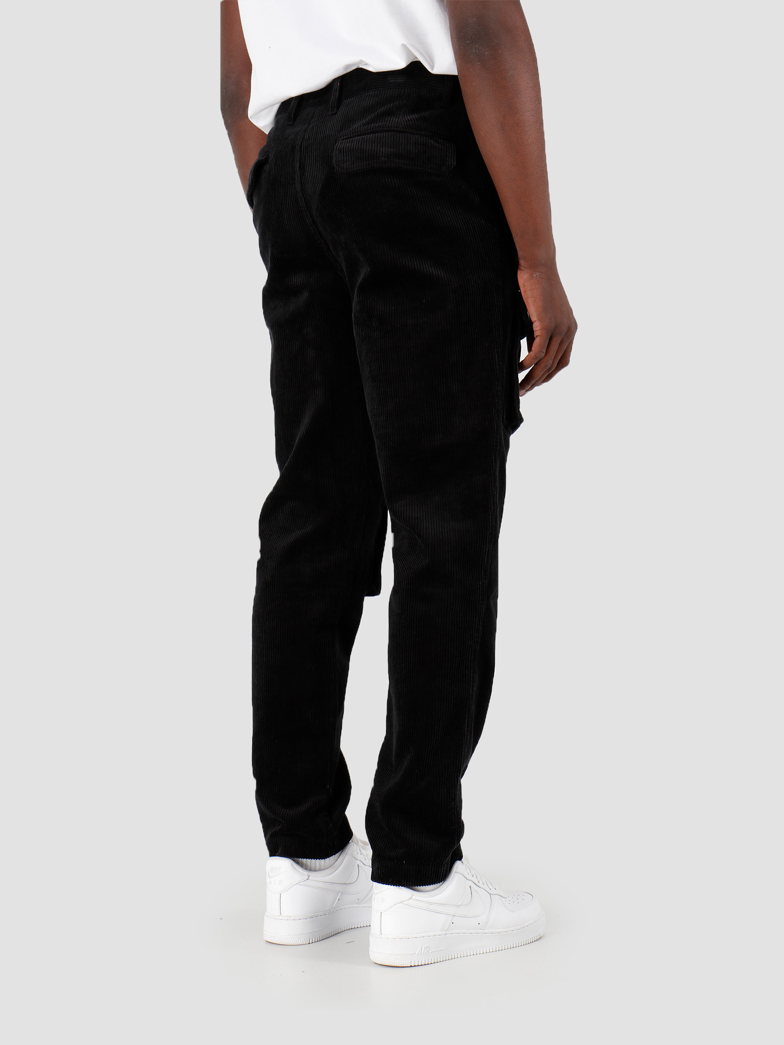 Daily Paper Daily Paper Cargo Pants Corduroy Black 19H1PA0204