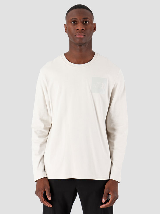 The North Face Longsleeve Fine oonlight Ivory T937FT128