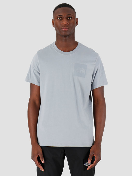 The North Face T-Shirt Fine Tradewinds Grey T0CEQ5ZDK