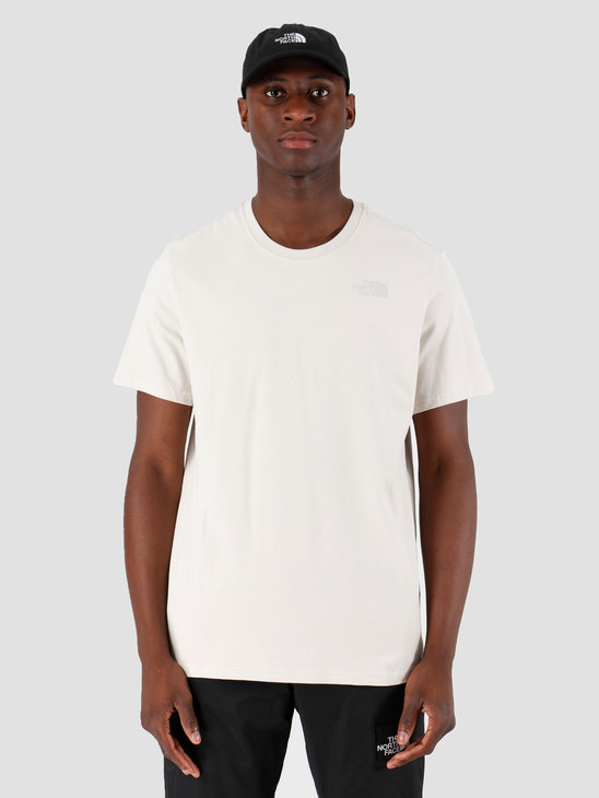 The North Face T-Shirt Redbox Moonlight Ivory T92TX2128