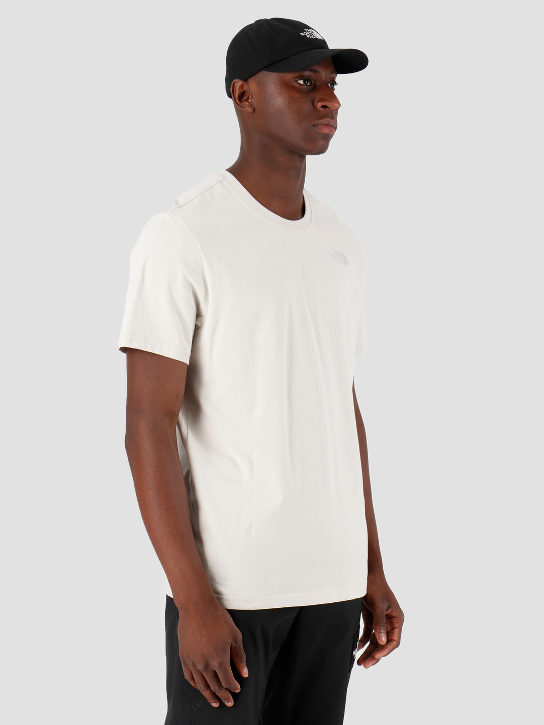 The North Face The North Face T-Shirt Redbox Moonlight Ivory T92TX2128