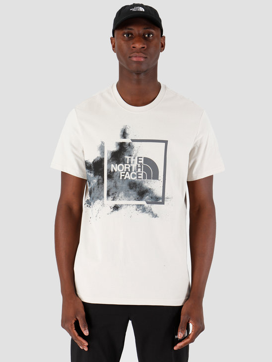 The North Face T-Shirt Simple Dome Moonlight Ivory T92TX5NKH