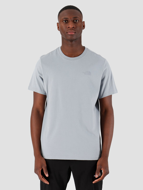 The North Face T-Shirt Simple Dome Tradewinds Grey T92TX5ZDK