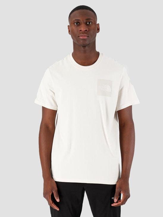 The North Face T-Shirt Fine Vintage White White T0CEQ5K82