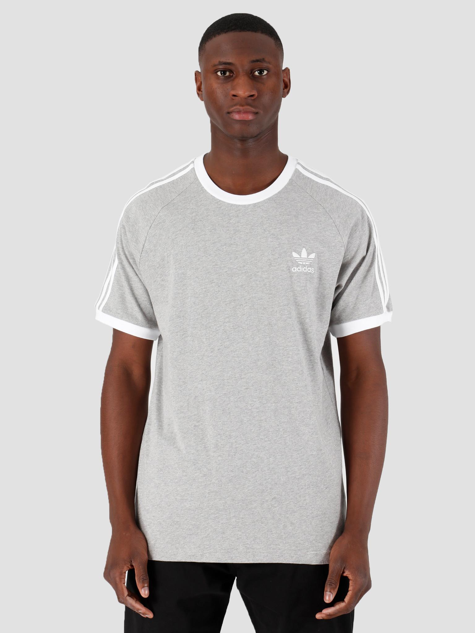 adidas adidas 3-Stripes Tee Grey Heather FM3769