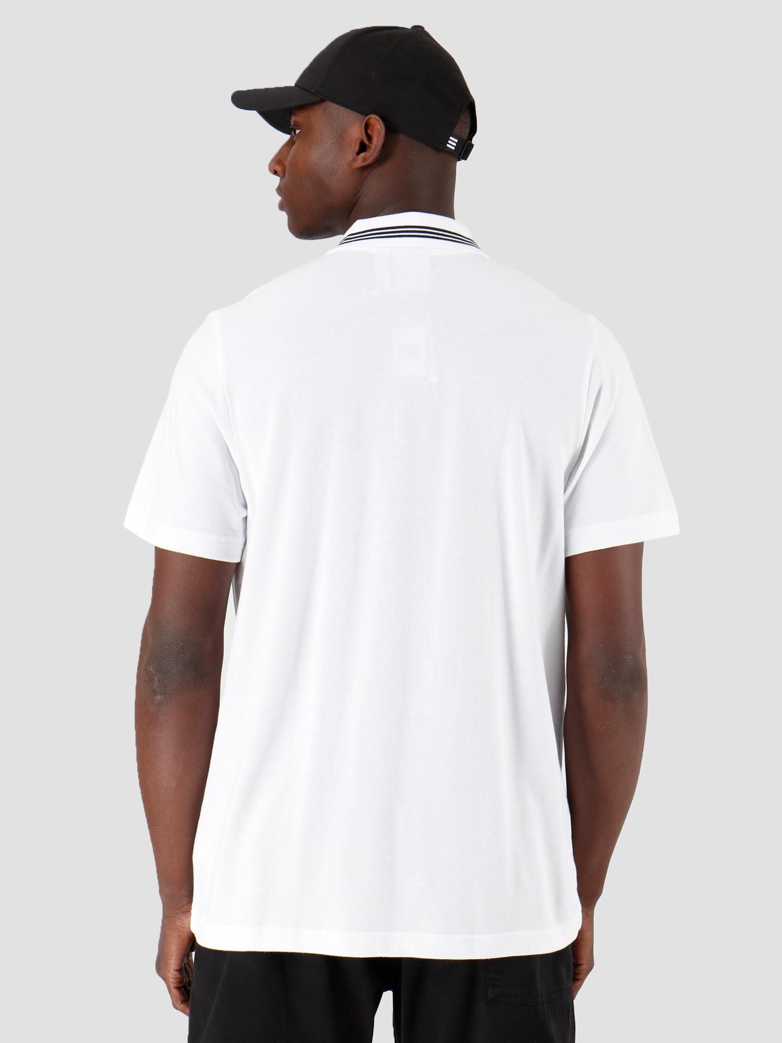 adidas adidas Pique Polo White FM9954