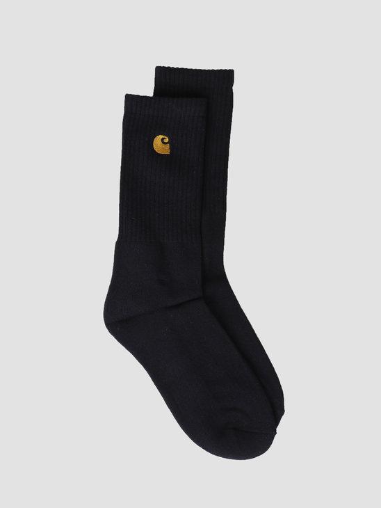 Carhartt WIP Chase Socks Dark Navy Gold I026527