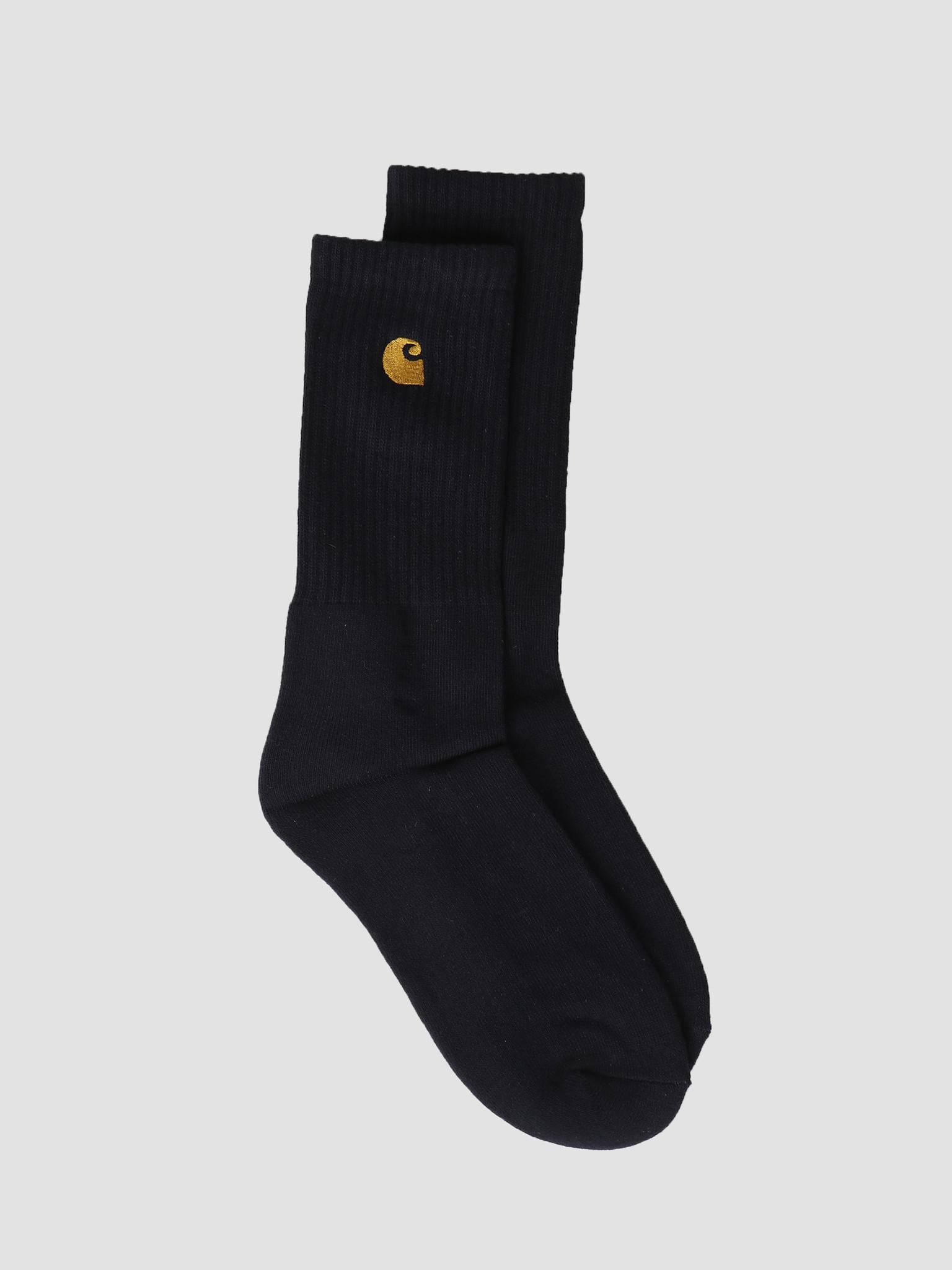 Carhartt WIP Carhartt WIP Chase Socks Dark Navy Gold I026527