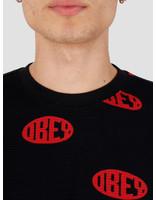 Obey Obey Ask Thermal Tee Ls Black Multi 131030093Bkm