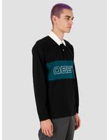 Obey Obey Ignite Classic Polo LS Black multi 131040028BKM