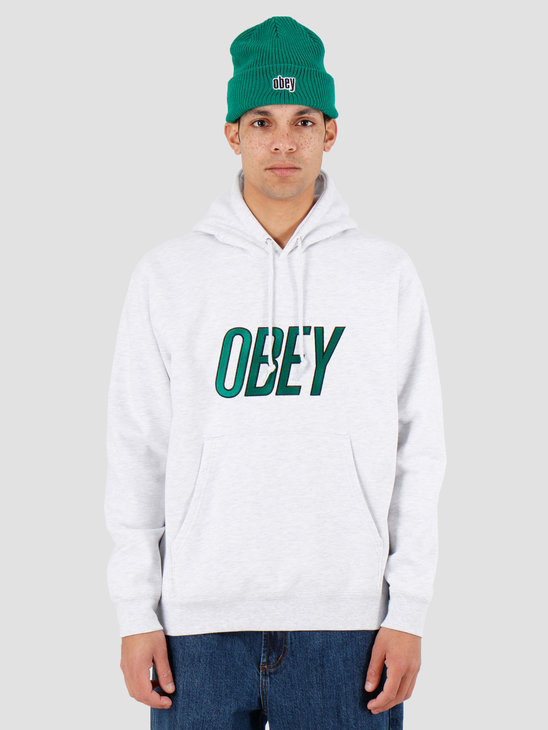 Obey Obey Panic Hood Ash Grey 112470079Agry