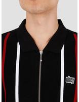 Obey Obey Slick Zip Polo Black Multi 111620056Bkm