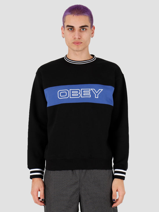 Obey Stand Crew Black 112480063Blk