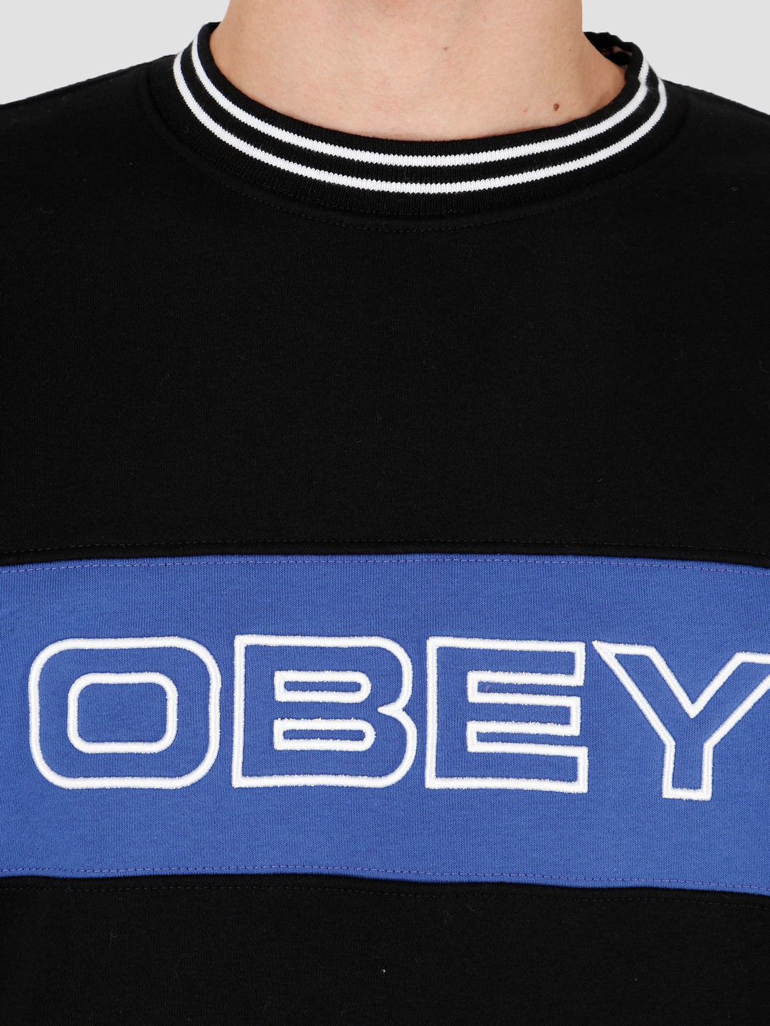 Obey Obey Stand Crew Black 112480063Blk
