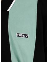 Obey Obey Traffic Zip Polo Ls Black Multi 131040027Bkm
