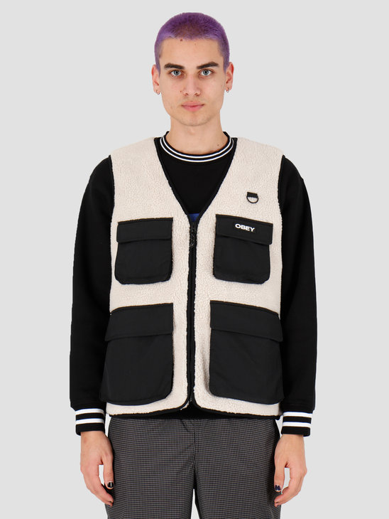 Obey Mountaineer Vest Natural Multi 121810010Nml