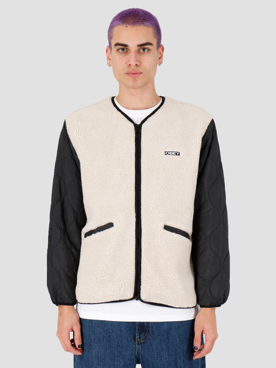 Obey Oyster Jacket Natural Multi 121800407Nml