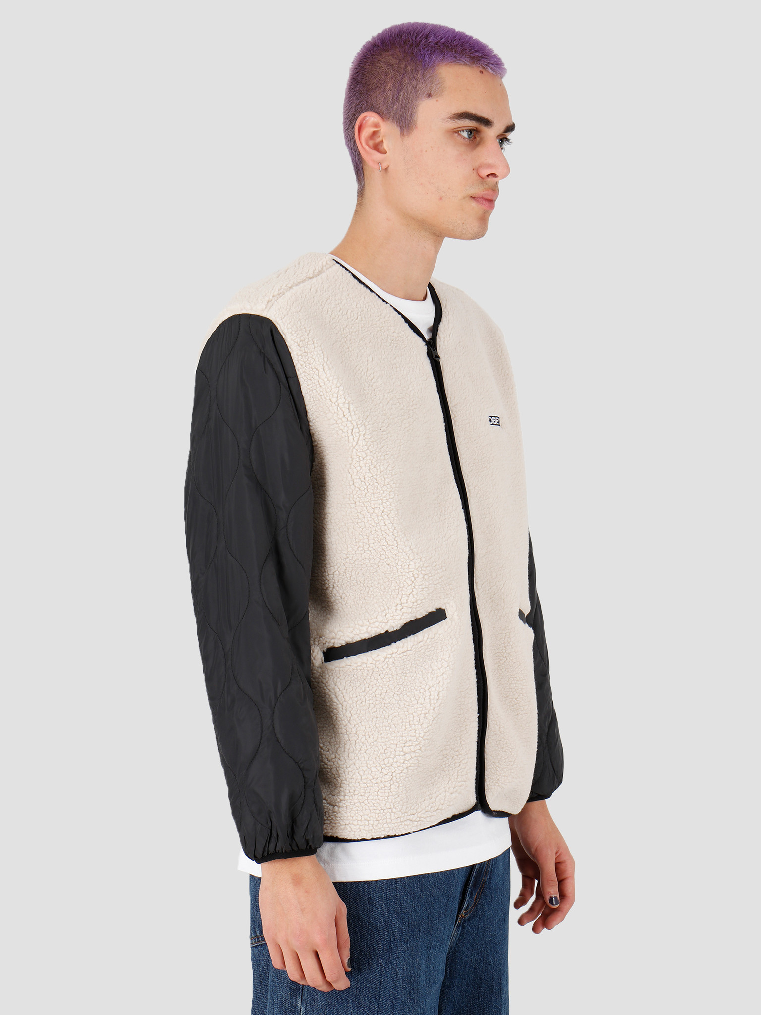 Obey Obey Oyster Jacket Natural Multi 121800407Nml