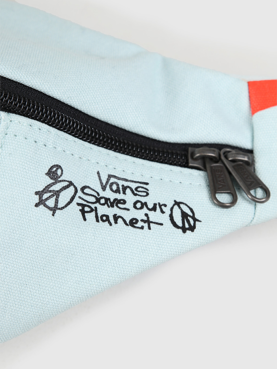 Vans Vans Ward Cross Body Pack Blue Save Our Planet VN0A2ZXXZSD1