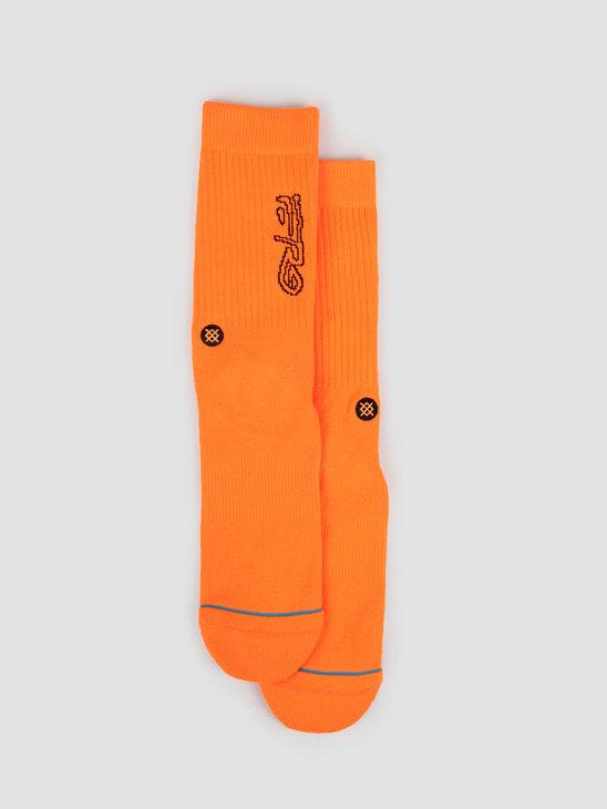 Stance A$AP FERG Neon Orange M556D19AFE