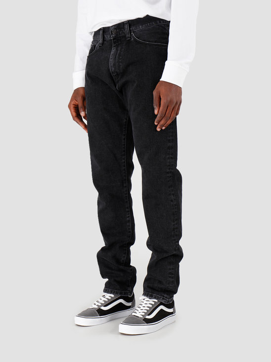 Carhartt WIP Vicious Pant Black Stone Washed I027230-8906