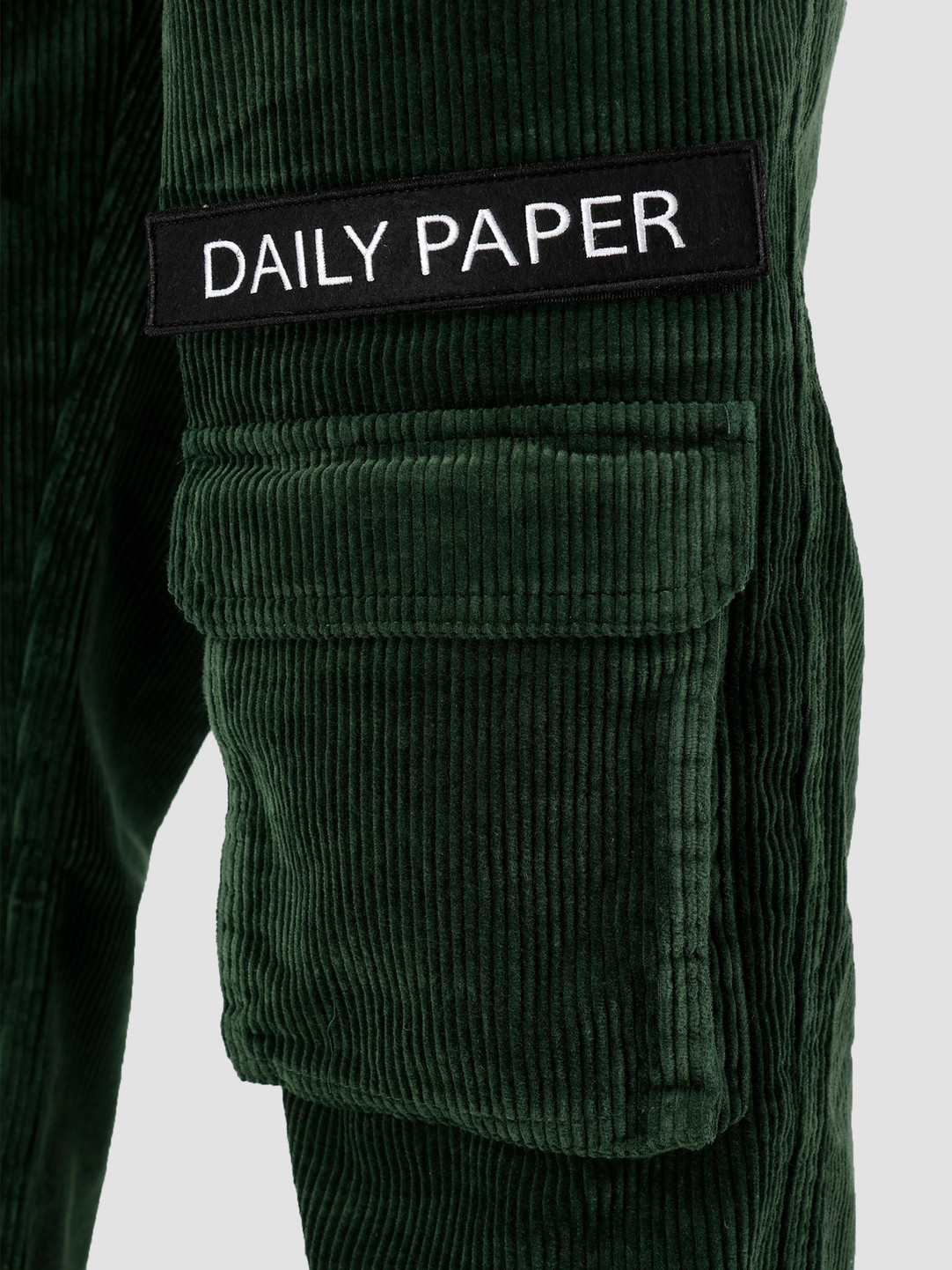 Daily Paper Daily Paper Cargo Pants Corduroy Mountain View Green 19H1PA0201