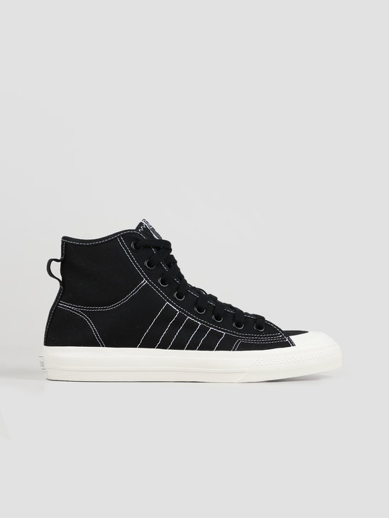 adidas Nizza Hi Rf Core Black Footwear White Off White F34057