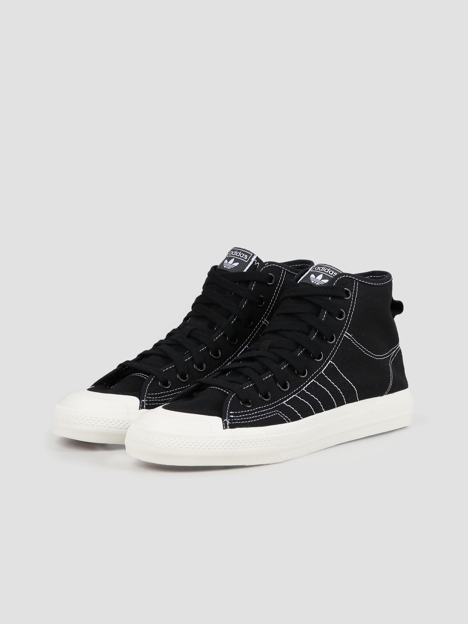 adidas adidas Nizza Hi Rf Core Black Footwear White Off White F34057