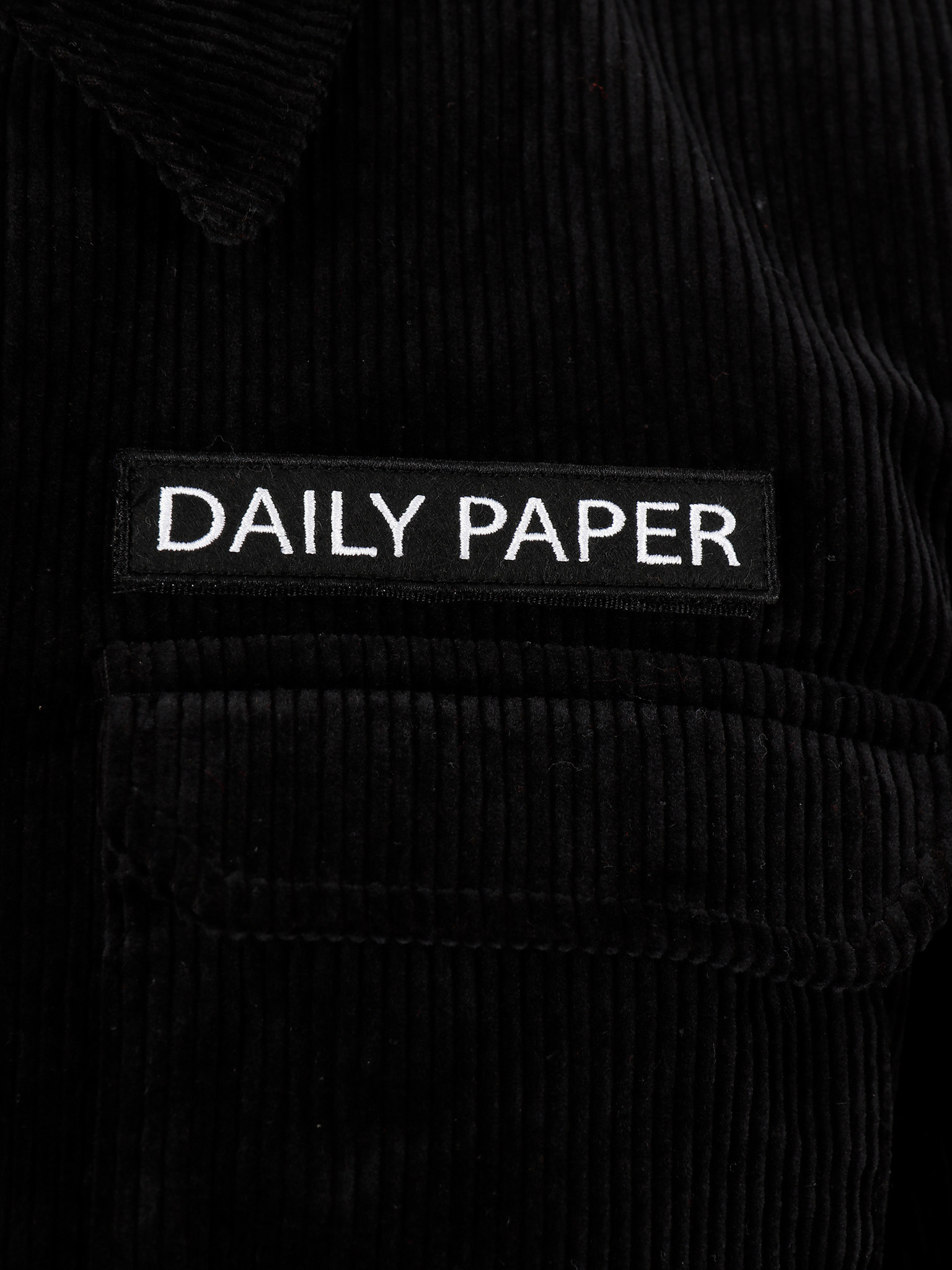 Daily Paper Daily Paper Cargo Jacket Corduroy Black 19H1OU01-04