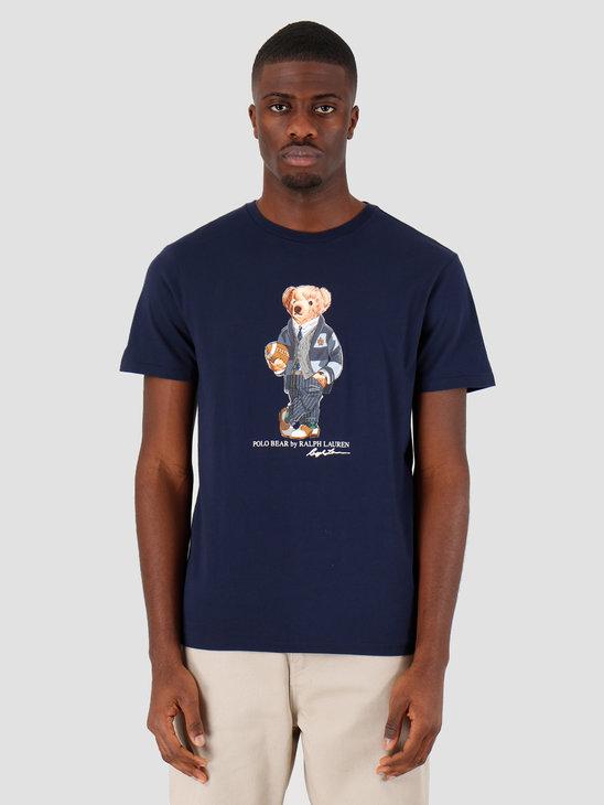 Polo Ralph Lauren Sscncmslm1 Short Sleeve T Shirt Navy 710782867001