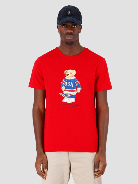 Polo Ralph Lauren Sscncmslm1 Short Sleeve T Shirt Red 710782867004