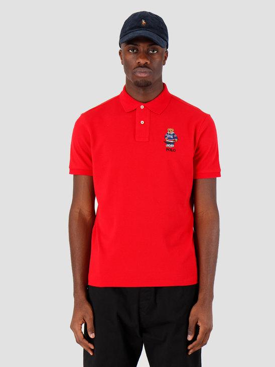 Polo Ralph Lauren Sskccmslm1 Short Sleeve Knit Red 710782858004