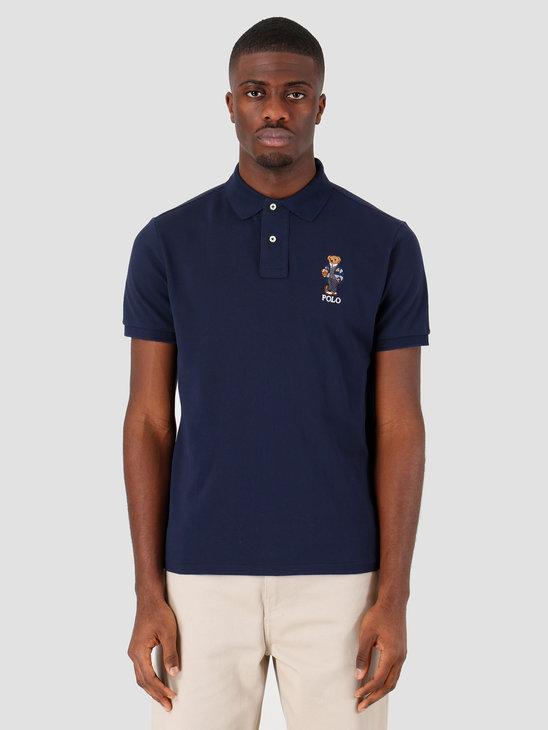 Polo Ralph Lauren Sskccmslm1 Short Sleeve Knit Navy 710782858001