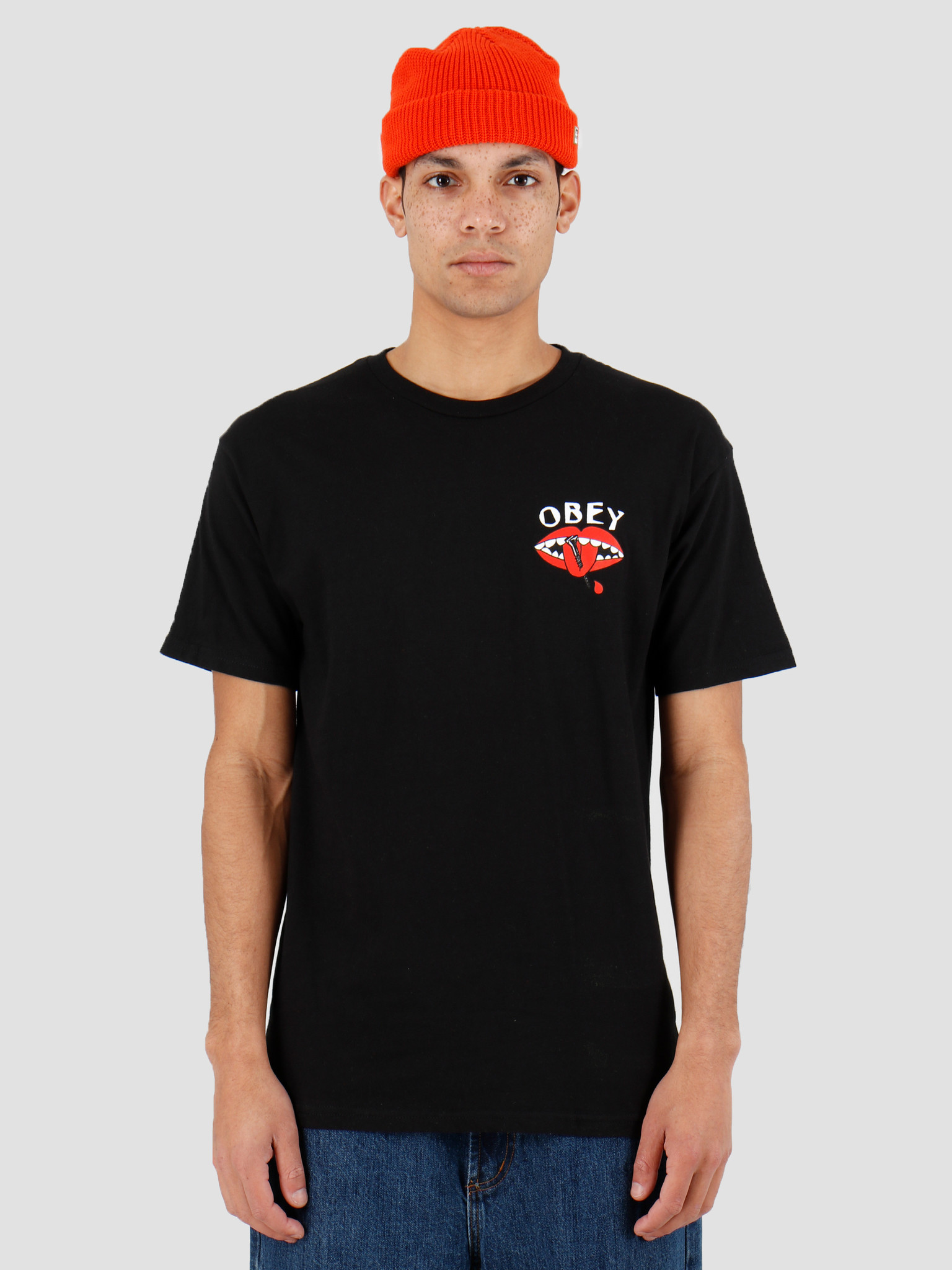 Obey Obey Talk Is Cheap Black 163082151Blk
