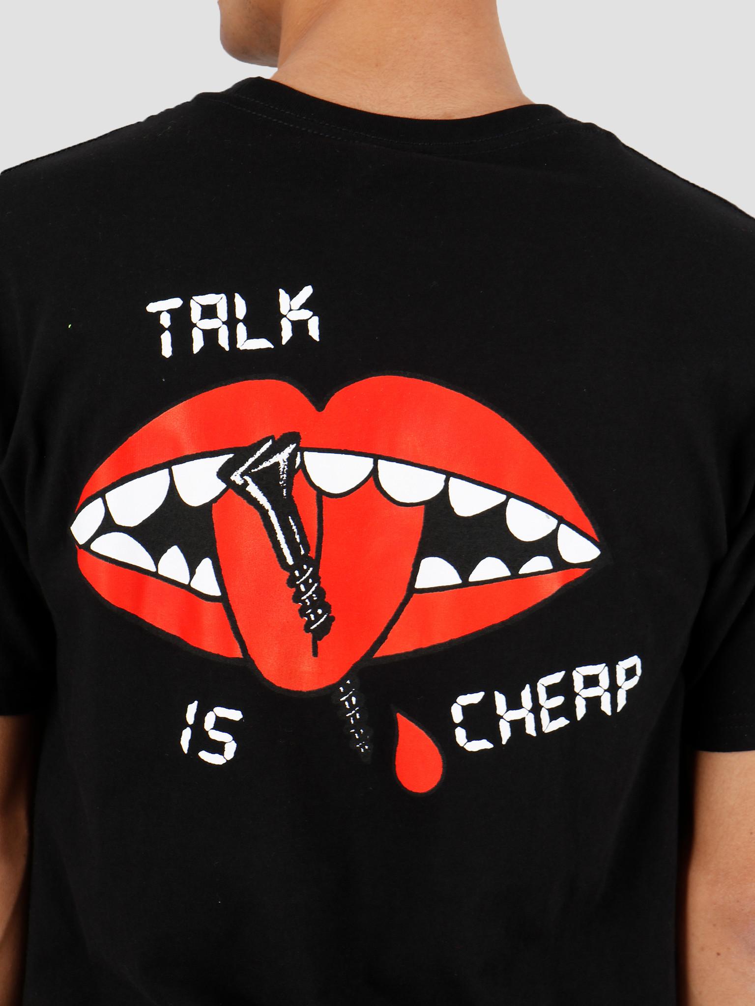 Obey Obey Talk Is Cheap Black 163082151Blk