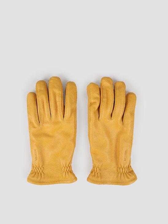 Hestra Särna Natural Glove Yellow 20890