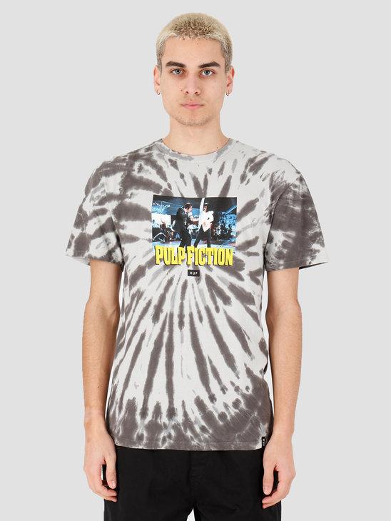 HUF Dance Scene Tie Dye Short Sleeve Tee Black TS01310