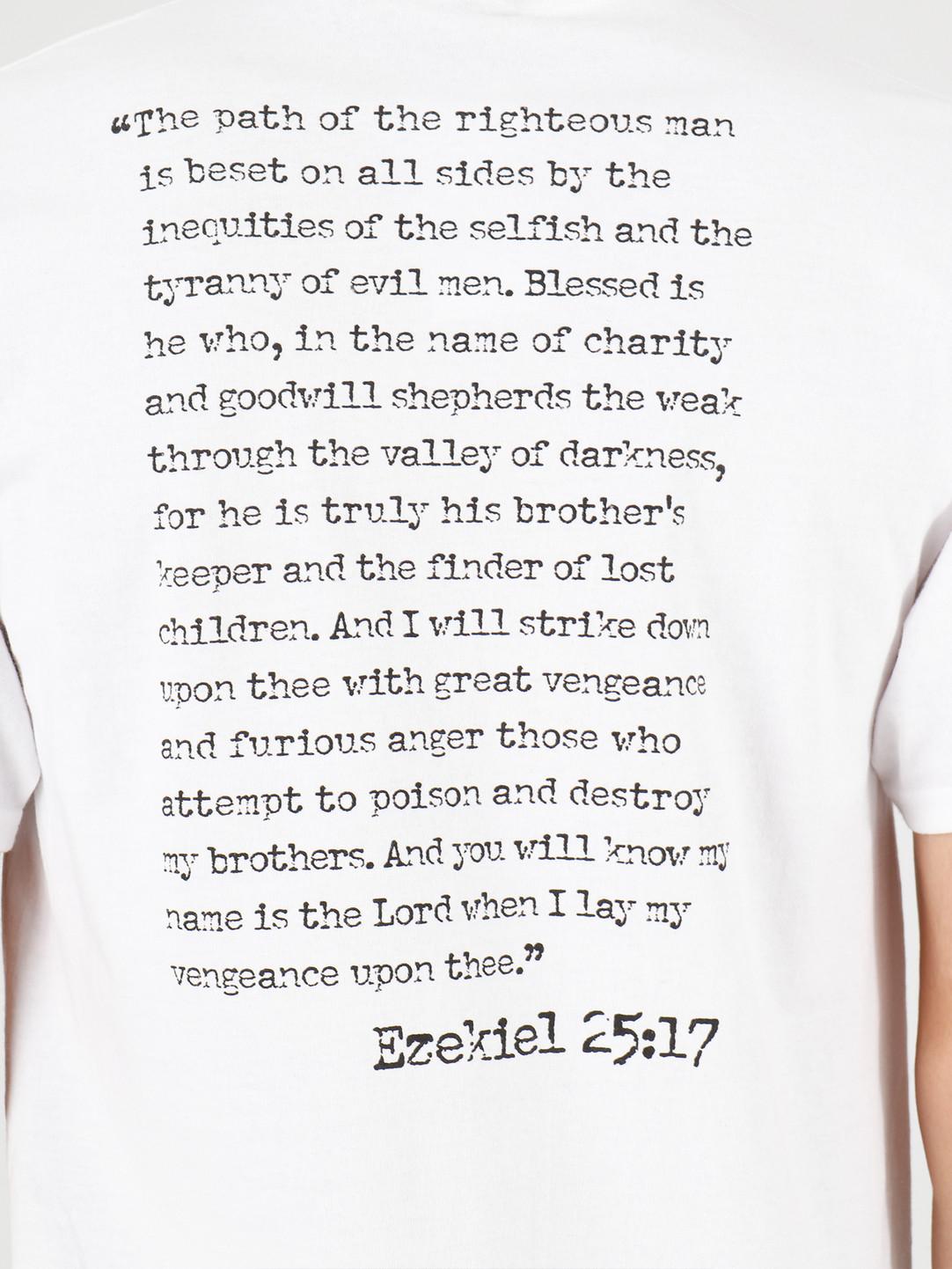 HUF HUF Ezekiel Short Sleeve Tee White TS01314